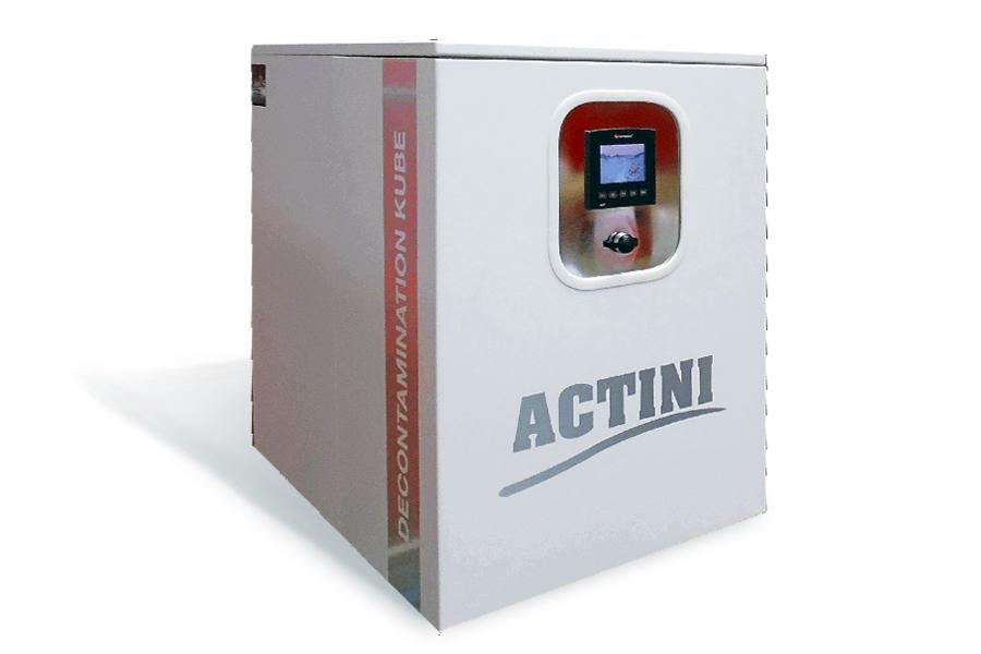 ACTINI Kube decontamination system