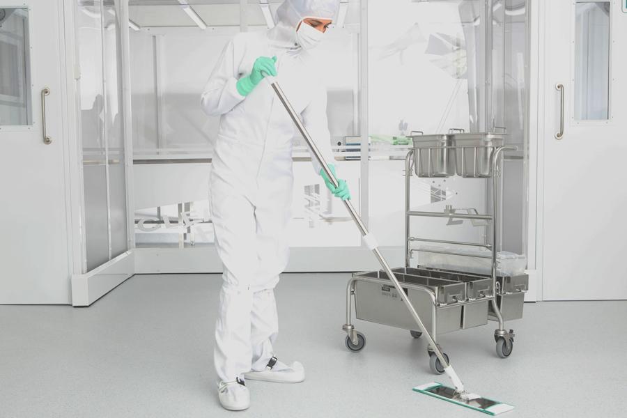 PurMop mop e carrelli per la pulizia di ambienti classificati e non