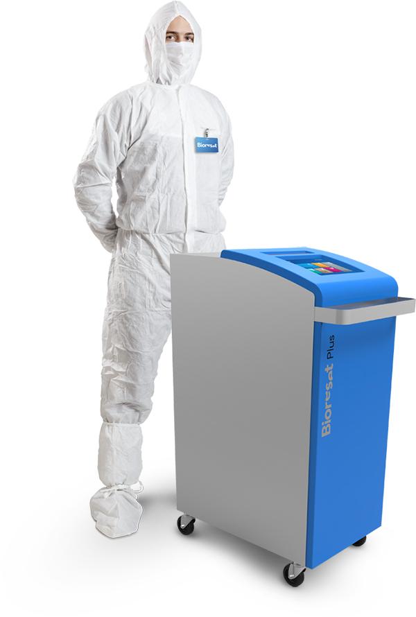 Servizi professionali di biodecontaminazione VPHP