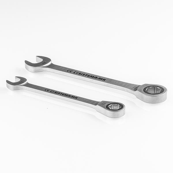 Chiave combinata in acciaio autoclavabile