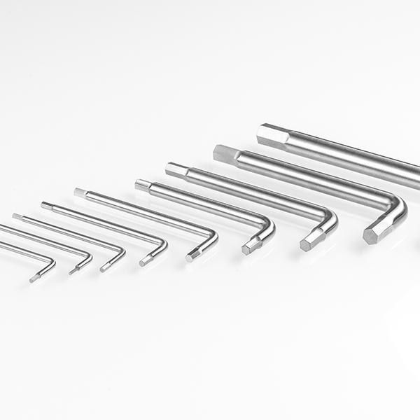 Set di chiavi a brugola in acciaio autoclavabili