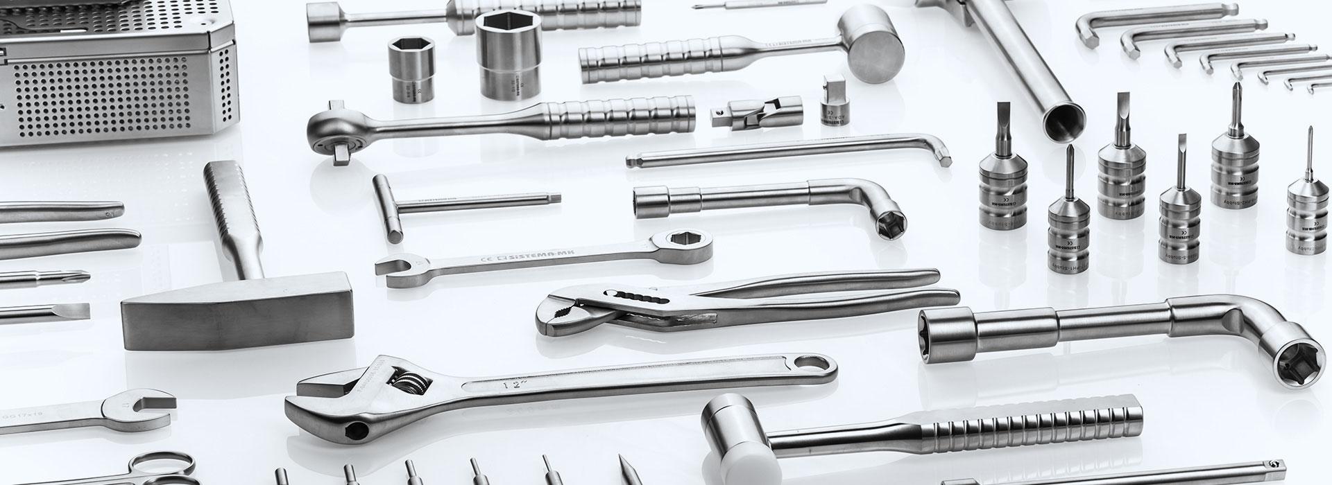 Tool autoclavabili in acciaio