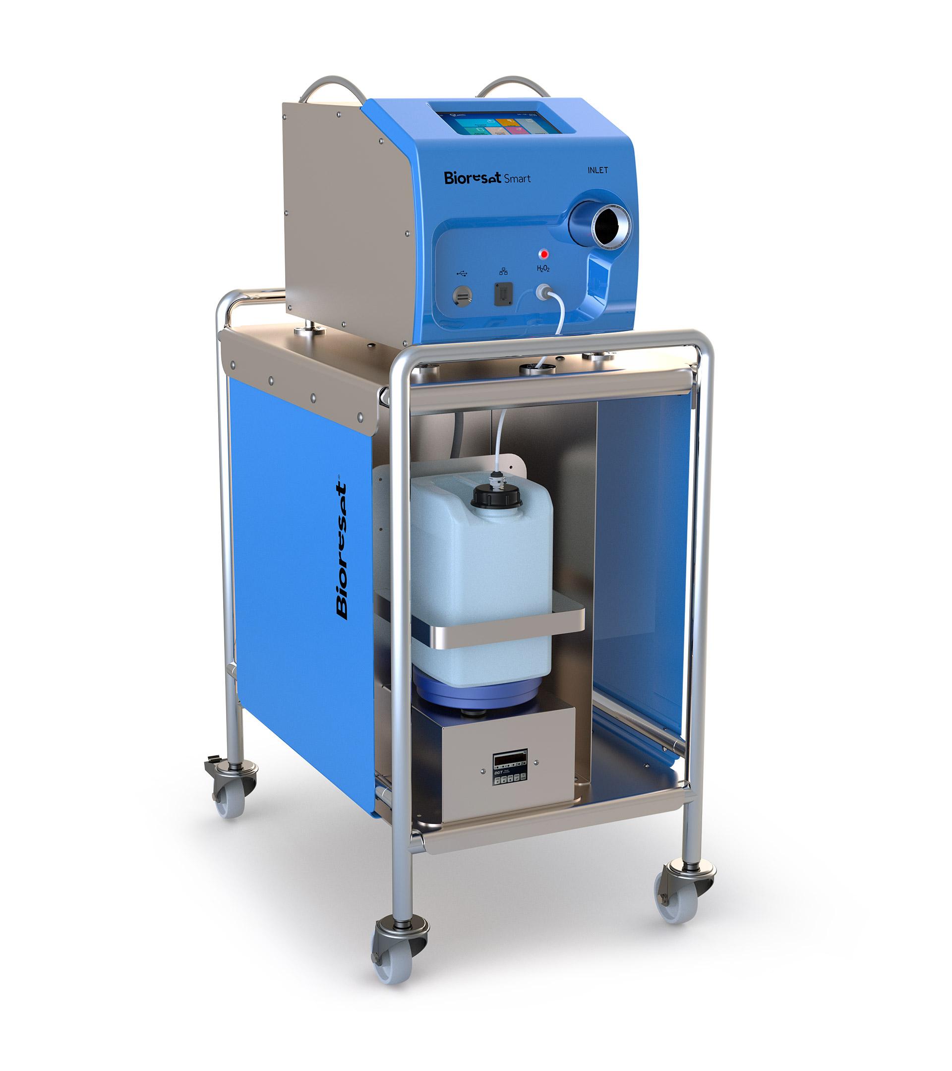 Generatore di perossido di idrogeno Bioreset SMART con carrello