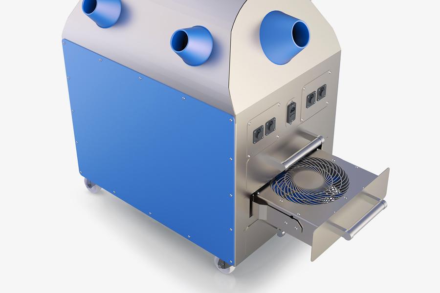 Sistema di distribuzione H2O2 Bioreset TURBOFLOW